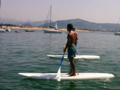 Paddle surfing rental 1h Santander