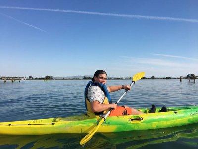 Kayak rental Sant Carles Delta Ebro 3h