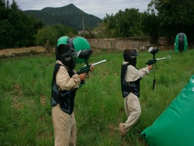 Paintball game Torrelavega and Reinosa 100 balls
