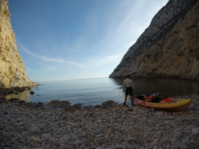 Kayaking route Calpe 3 to 4 hours