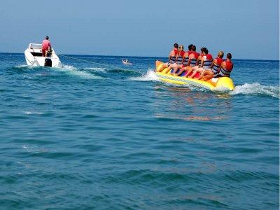 Banana boat trip to Garrucha-Mojácar 30 min