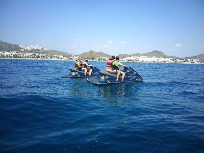 Group pack jet ski and banana boat in Garrucha