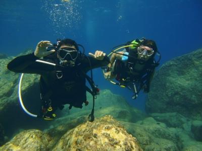 Open Water Diver diving certificate in Requejada