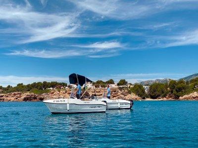 Boat rental without license Calafat High Season 4h