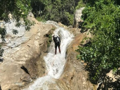 Canyoning Río Grande Zarzalones in Yunquera 3h