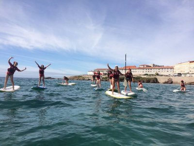Rent paddle surf equipment in Caión 90 min