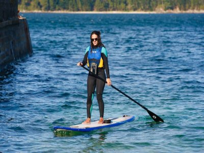 Paddle surf route from Caión port 2 hours