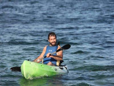 Kayak tour along the coast of Caión 2 hours