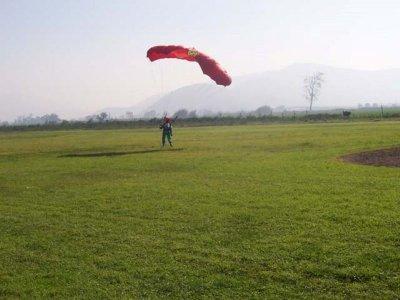 Parachute jump Villamartín 4700 m internal video