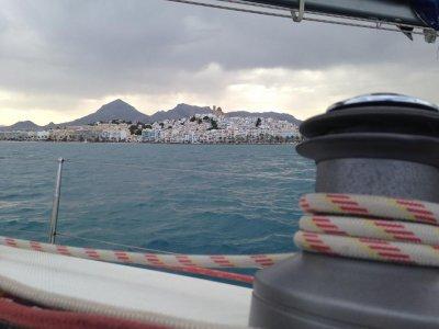 Sailboat trip Altea, boat skippering, anchoring 4h