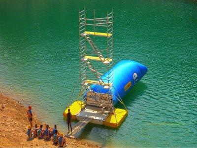 Blob Jump at the Contreras Reservoir 3h