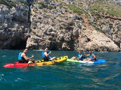 Kayak trip in Las Rotas 1 hour
