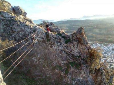 Via ferrata Cerro Virgen de Gracia in Archidona
