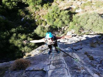 Via ferrata Montejaque high difficulty 3 hours