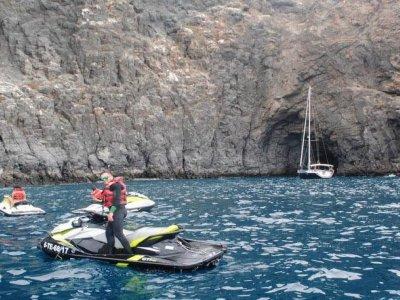 Jet ski tour from Puerto de la Cruz 1 hour