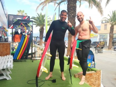Surf board rental in Puerto de la Cruz 2 hours