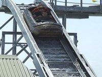 Log chute