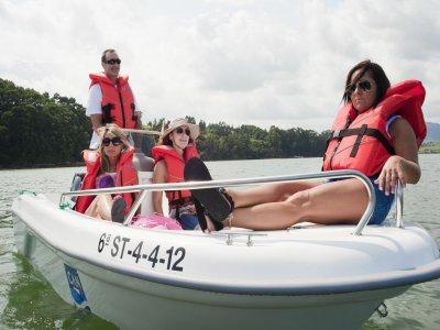 Boat rental with no license Santander bay