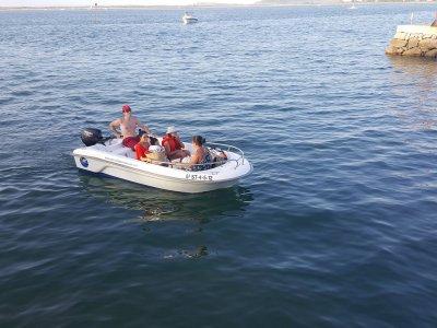 Motorboat rental in Santander