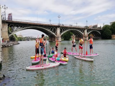 Paddle Surf Tour Seville no instructor 1h 30 min