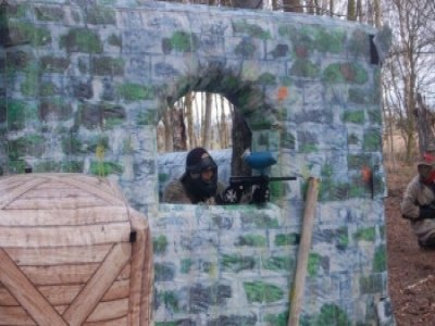 Full Day Paintball Package Brigg