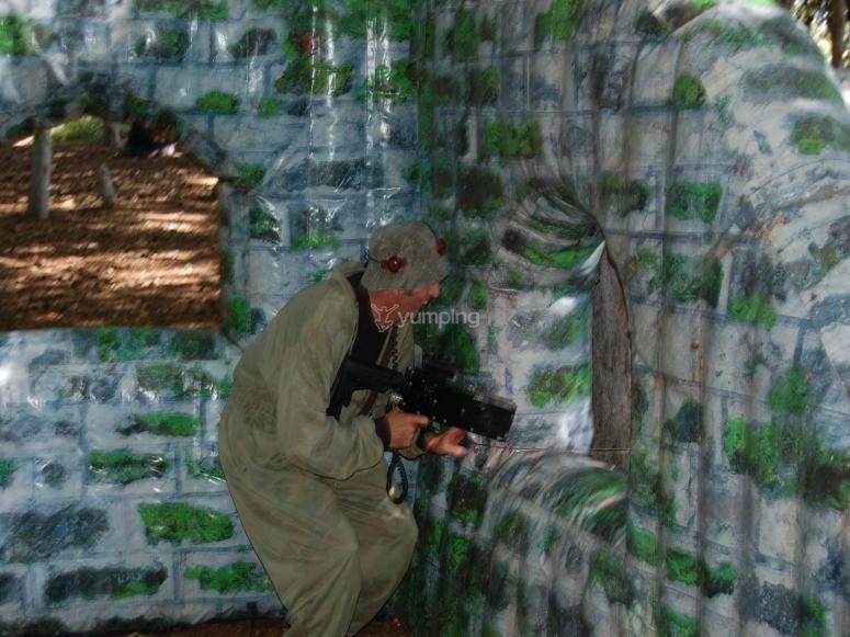 Hidden sniper