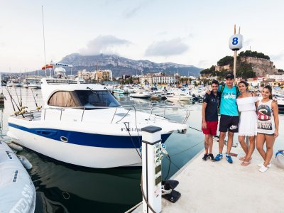 Boat trip from Dénia, half day