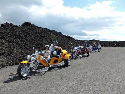 Motor Trike Tour of Timanfaya, 3,5 hours