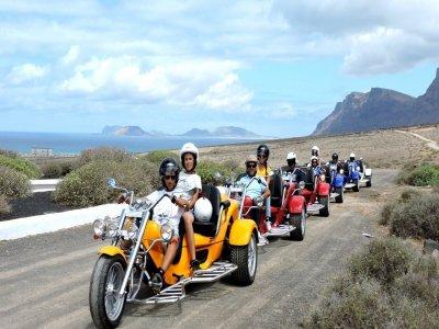 Motor trike tour from La Geria 2 hours