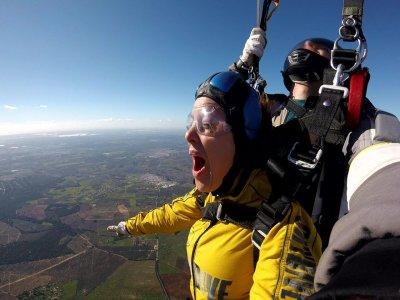 Parachute jump Christmas & 6th of January 4,600 m