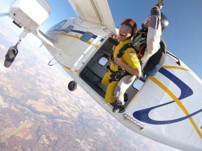 Parachute jump Christmas, Reyes day, La Juliana