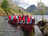 Canoeing for the whole family at West Lakes Adventure!