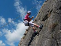 Abseiling at West Lakes Adventure
