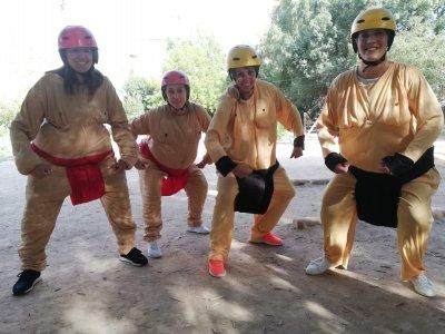 Gymkhana bachelor/ette parties Alcalá del Júcar 2h