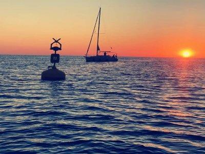 Romantic sailboat ride and dinner from Garrucha