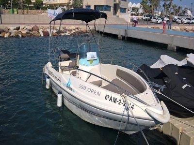 Day Navigation License Garrucha harbour 4-hour