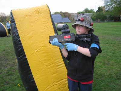 Paintball Trax Laser Tag