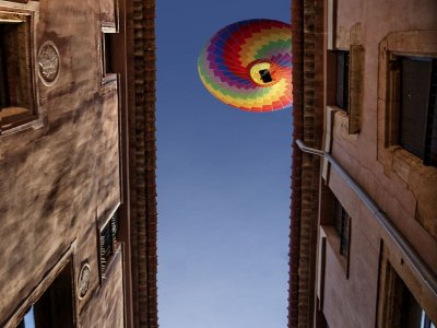 Hot-air balloon ride breakfast and video Aljarafe