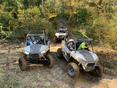 Two-seater buggy route to Montserrat
