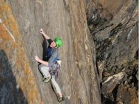 Classic climbing route