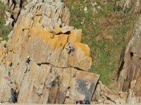 Daring climbing duo