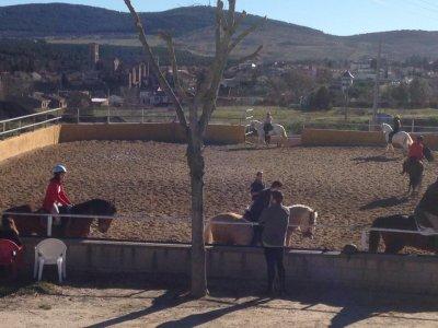 Individual riding class Buitrago de Lozoya