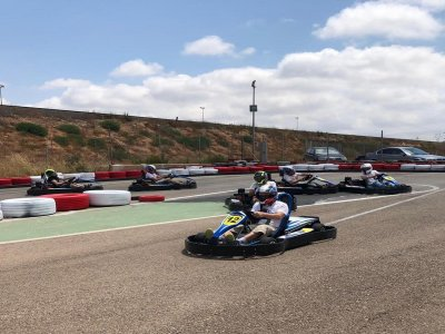 Karting round for adults in Cartagena 8 min