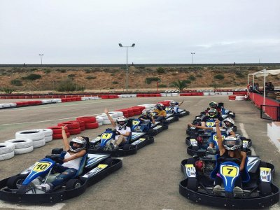 Two-seater go kart session in Cartagena 10 min