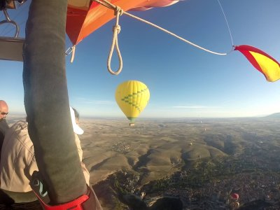 Exclusive balloon flight in Ciudad Real 1 hour