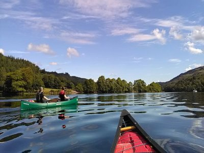 Great Glen Water Park Canoeing