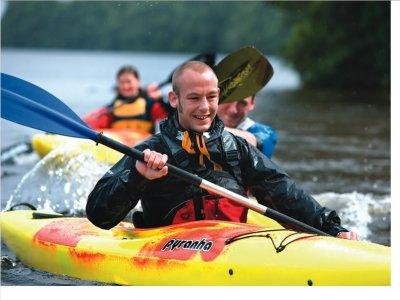 Great Glen Water Park Kayaking