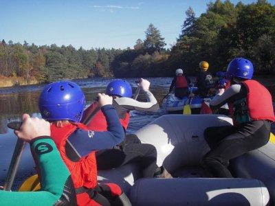 Great Glen Water Park Rafting
