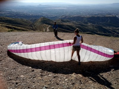 Paragliding course for 2 hours in Granada