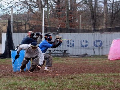 Paintball for adults of 200 paint balls in Bullas